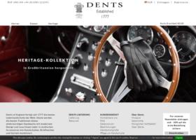 screenshot Dents Handschuhe